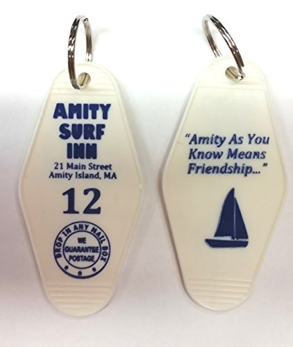 (Amity Surf Inn Key Tag Inspired by the movie Jaws)