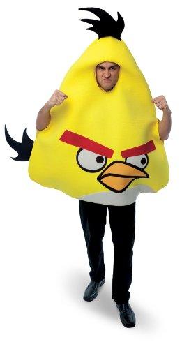Angry Birds Yellow Bird Adult Costume - Adult Std.