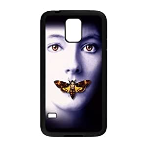 Samsung Galaxy S5 Cell Phone Case Black Silence Of The Lambs M4N2CE