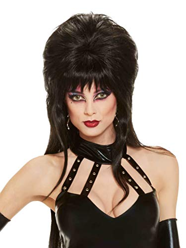 Rubie's Elvira Mistress Of The Dark Long Wig, Black, One Size]()