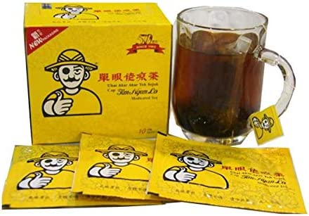40 Sachets Tan Ngan Lo Medicated Tea Herbal Tea (All Natural Traditional Herbs Remedy) Imported from Malaysia- Free Express Delivery