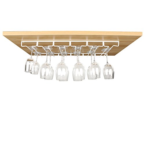 Cabinet Stemware Glasses Organizer Storage