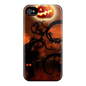 Scotansen Snap On Hard Case Cover Midnight Forest Halloween Protector For Iphone 5/5s