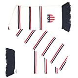 USA Embroidered Soccer Knit Scarf - Matches Current Jersey Colors!