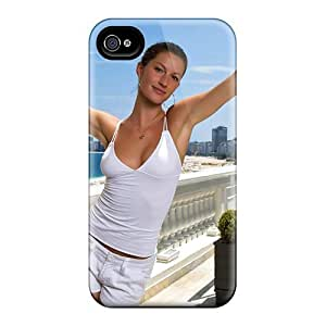 Protection Case For Iphone 4/4s / Case Cover For Iphone(gisele Bundchen) by icecream design