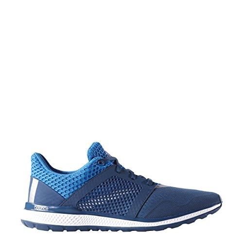 Adidas Energy Rimbalzo 2.0 Mens Running Shoe Shock Blu-argento Metallizzato-tech Acciaio