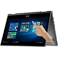 Dell i5368-10025GRY 13.3 FHD Touch 2-in-1 Laptop (Intel Core i7-6500U 2.5GHz Processor, 8 GB RAM, 256 GB SDD) Windows 10 Gray (Certified Refurbished)