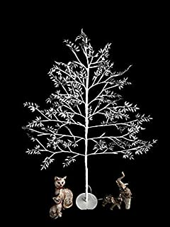 Jaymark Products 6ft 180cm Pre Lit Remote Controlled Christmas Twig