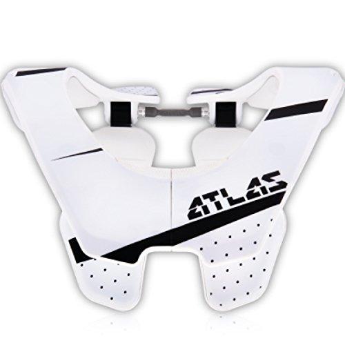 Atlas Air Brace Trooper Neck Brace White Large Motocross MX Protection by Atlas