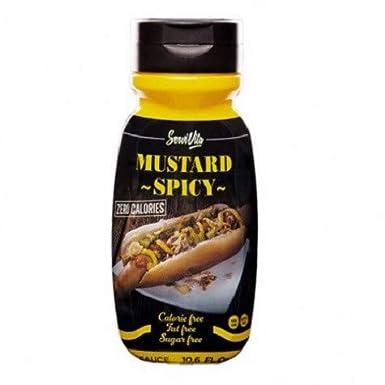 Salsa Mostaza Picante 0% Servivita 300 ml: Amazon.es: Alimentación y bebidas