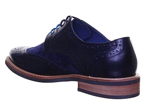 Justin pour homme Chaussures Navy Reece Pn12 en Calvin cuir Matt pwprY