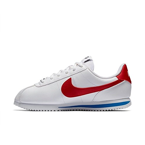 Nike Cortez Basic SL (GS), Zapatillas de Trail Running Para Niños, Blanco (White/Varsity Red/Varsity Royal/Black 103), 35.5 EU Blanco (White/Varsity Red/Varsity Royal/Black 103)