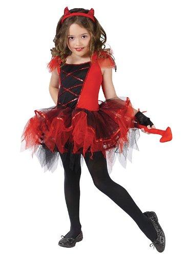 [Devilina Costume - Medium] (Child Devilina Costumes)