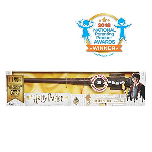 Harry Potter, Harry Potter's Wizard Training Wand - 11 SPELLS TO CAST! from HARRY POTTER