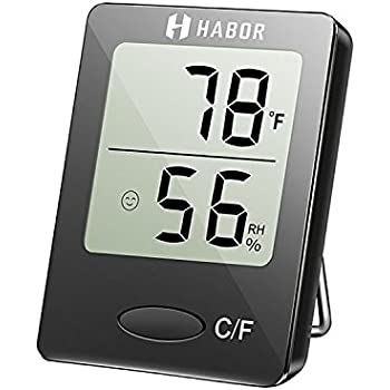 Amazon.com: ThermoPro TP50 Digital Hygrometer Indoor Thermometer ...