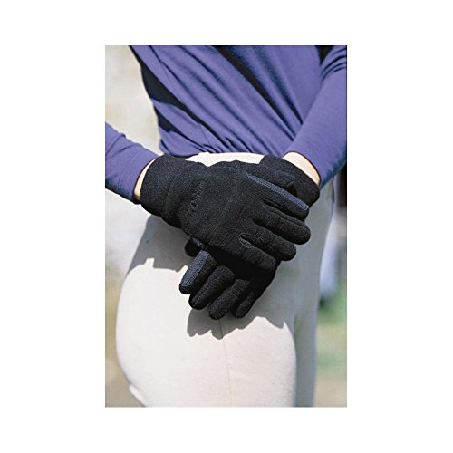Good Hands Easy Care Fleece Pimple Grip - Color:Black Size:XSmall ()