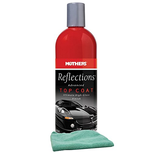 Mothers Reflections Advanced Top Coat (16 oz) Bundle with Microfiber Cloth (2 Items)