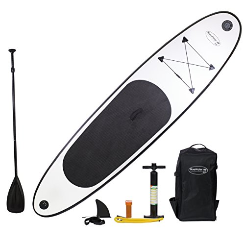 10' Inflatable Stand Up Paddle Board SUP w/ Adjustable Paddl