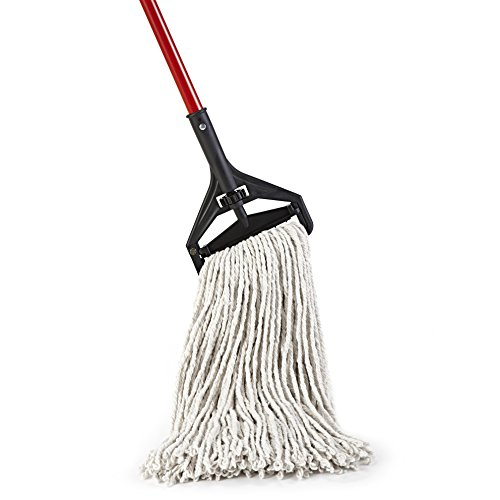 O-Cedar Commercial-Grade Heavy Duty Looped-End String Mop, 24 oz Head