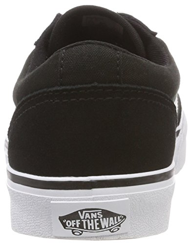 Vans Black A3il2iju Unisexe Sophie suede white Tissu canvas Chaussures Iju Noir Cuir on En Gar 7r57qwE