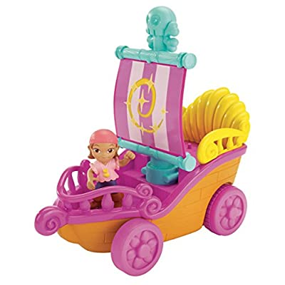 Fisher-Price Disney Jake and The Never Land Pirates: Sail 'N Roll Izzy: Toys & Games