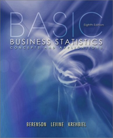 Basic Business Statistics: Concepts and Applications (8th Edition)