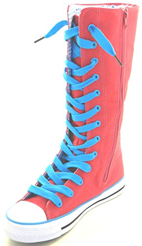 H Tall Kids Size Shoes 1105 Classic 1 Punk 10 Dancing Going F Boot Sneakers Skate Pink Girls Consider Canvas New up Dev 7UwdUaqX