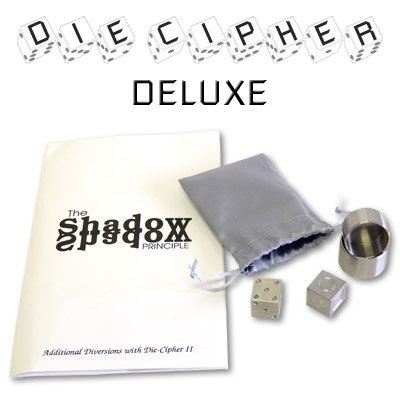 Die Cipher Deluxe Set Stainless Steel by Chazpro Magic