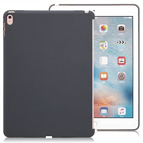 iPad Pro 9.7 Inch Charcoal Gray  Back Case - Companion Cover - Perfect match for smart keyboard.