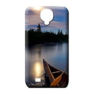 samsung galaxy s4 Impact New For phone Cases mobile phone carrying covers canoe on river