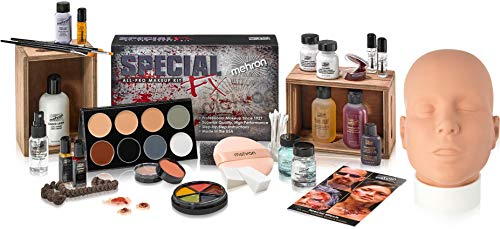 Effects Makeup - Mehron Makeup Holiday Special FX Gift Set (Practice Head Included)
