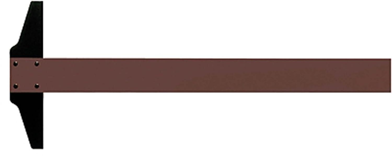 Rumold 344070 - Regla en T (70 cm, plástico), color marrón