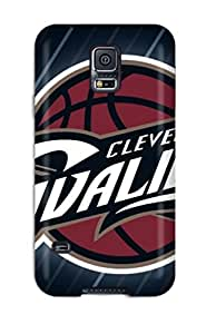 QmTYmfp310ZLqCs Tpu Phone Case With Fashionable Look For Galaxy S5 - Cleveland Cavaliers Nba Basketball (35)