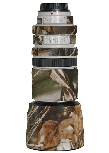 LensCoat Lens Cover for Canon 100-400 Lens Cover camouflage neoprene camera lens protection sleeve (Real tree Max4) lenscoat