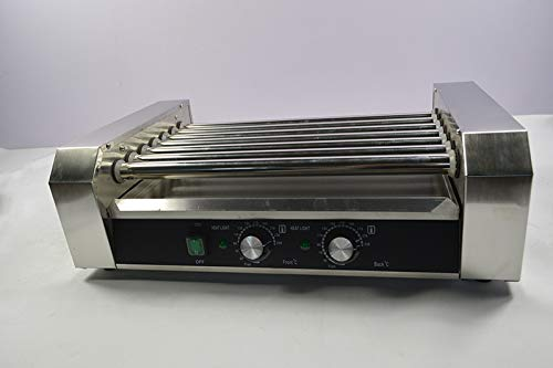 Intbuying 110V US Seller items Popcorn Commercia Hot Dog 7 Roller Grilling Machine Hot Selling by INTBUYING (Image #6)