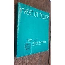 catalogue Yvert et Tellier 1982 tome 3 timbres d'Europe d'Albanie à Hongrie A-H