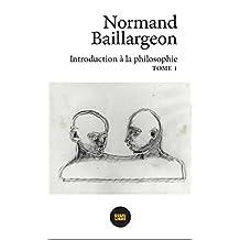 Introduction à la philosophie, t. 01