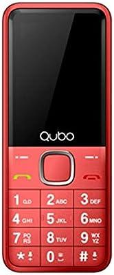 Qubo XEUS-RD Teléfono Ideal para Personas Mayores: Amazon.es ...