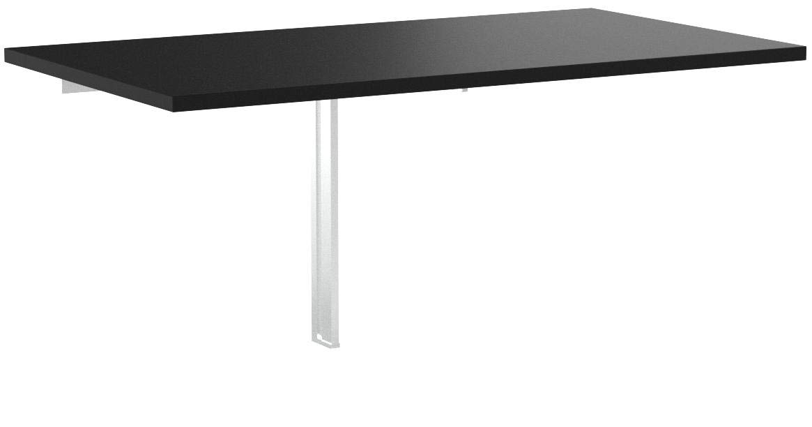 IKEA 802.175.24 BJURSTA Drop-Leaf Table, 35 3/8x19 5/8'''', Black by IKEA