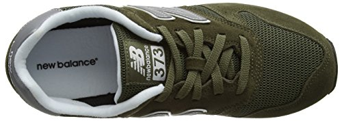 New Balance Men 373 Sneaker Green (oliva)
