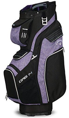Callaway 2018 Org. 14 Cart Bag Black/Purple/Sliver