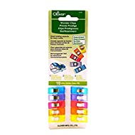 Clover Wonder Clips Assorted Colours - per pack of 10