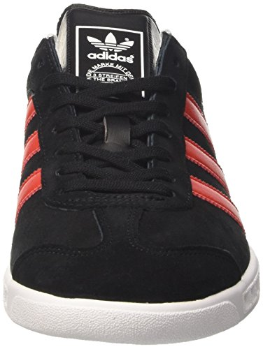 Suede Red Hamburg Black Trainers Mens Adidas qYw7EH