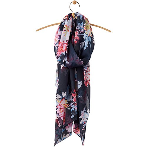 Joules Wensley Longline Womens Scarf One Size Navy Whitstable Floral from Joules