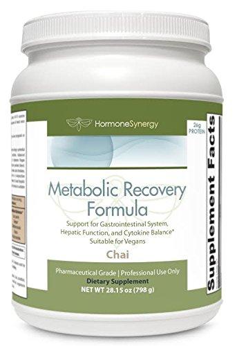 Metabolic Support Formula - Metabolic Recovery Formula CHAI   Gastrointestinal, Hepatic and Intestinal Support*   26g Pure Vegan Protein   Non-GMO Pea/Rice   MeadowPure, Aminogen® & Quatrefolic®
