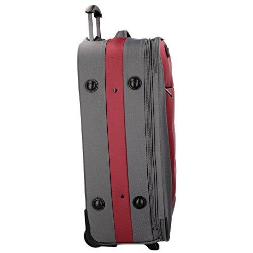Detroit Set de bagages 75 cm 193 liters Rouge (Rojo) vzINTvFl7