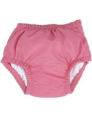 Baby Girl's Ultimate Swim Diaper (Hot Pink, 6-12 M)