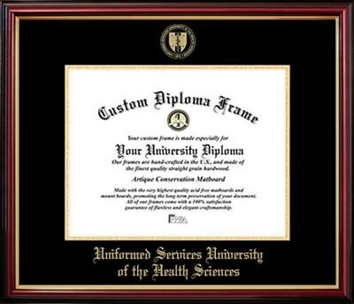 Uniformed Services University of the Health Sciences Affordable Diploma Frame
