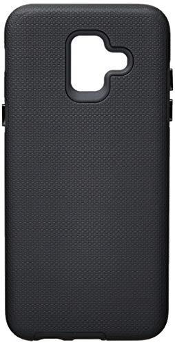1326-Case Strong Duall Samsung Galaxy A6 2018, iWill, Capa Anti-Impacto, Preta