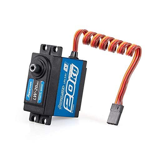 Power HD LW-20MG Standard Waterproof Digital High Torque Steering Servo (Black, 40.7 20.5 39.5mm)